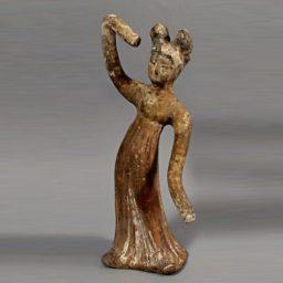 Dancing Female Tomb Figure