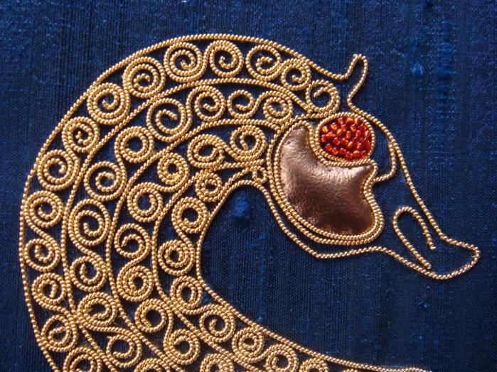 Sea horse detail